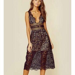 Mon Cheri Midi dress
